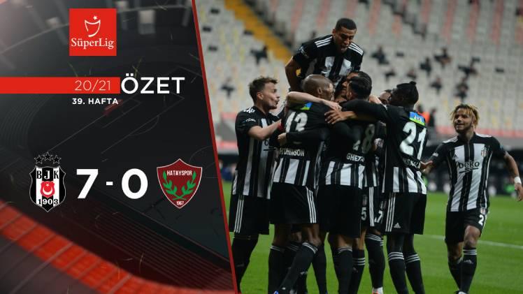 Beşiktaş Atakaş Hatayspor maç özeti