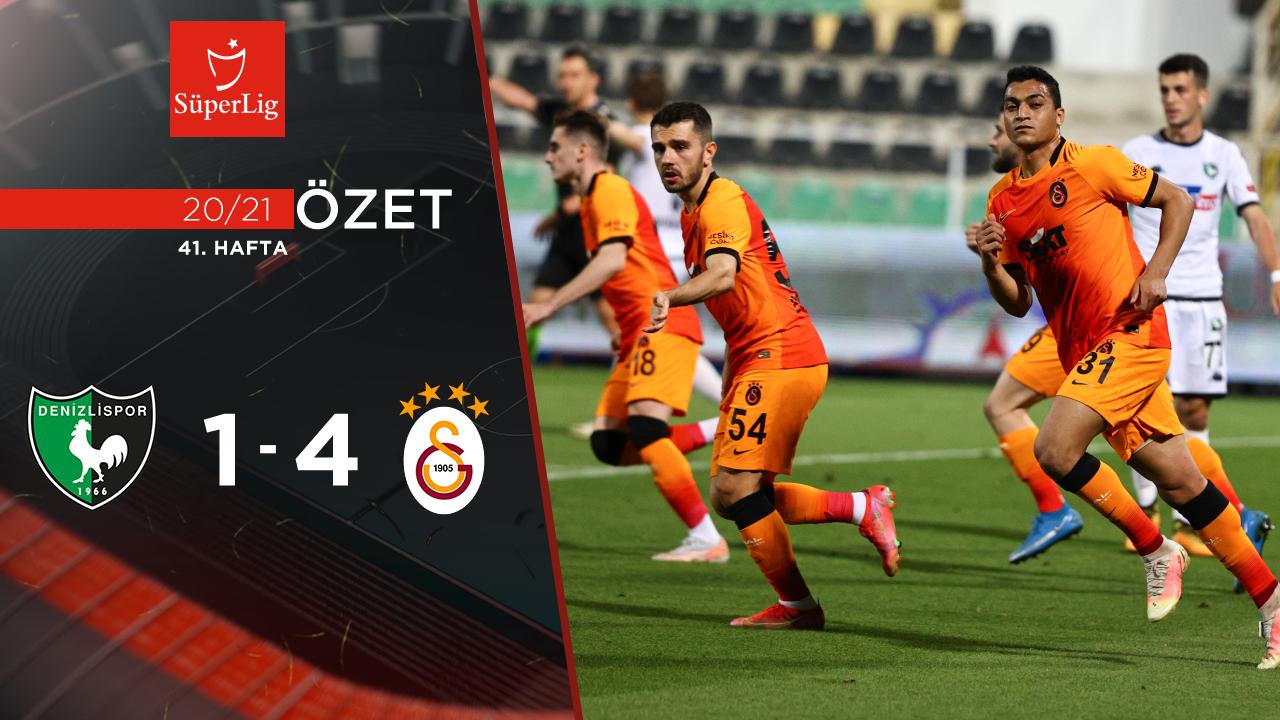 Denizlispor Galatasaray maç özeti