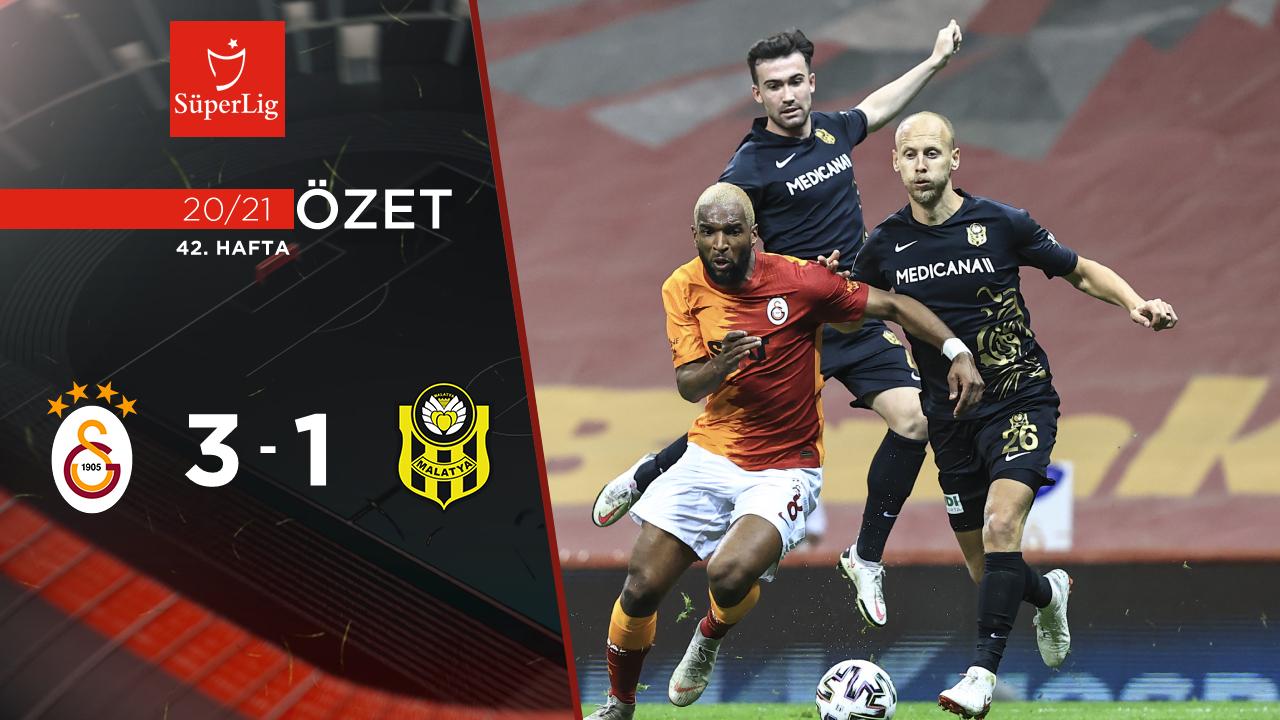 Galatasaray Yeni Malatyaspor maç özeti