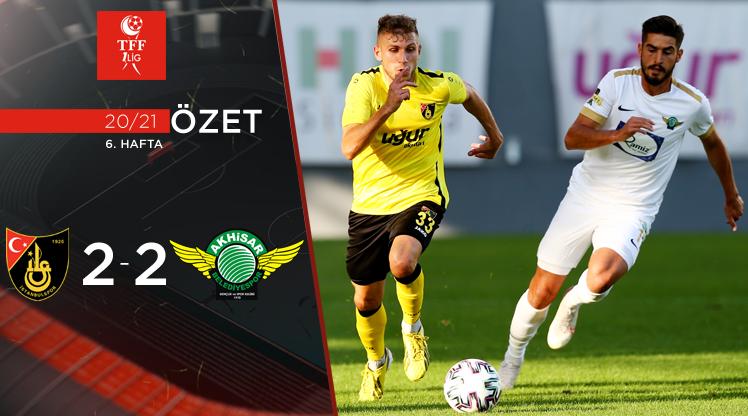 İstanbulspor Akhisarspor maç özeti