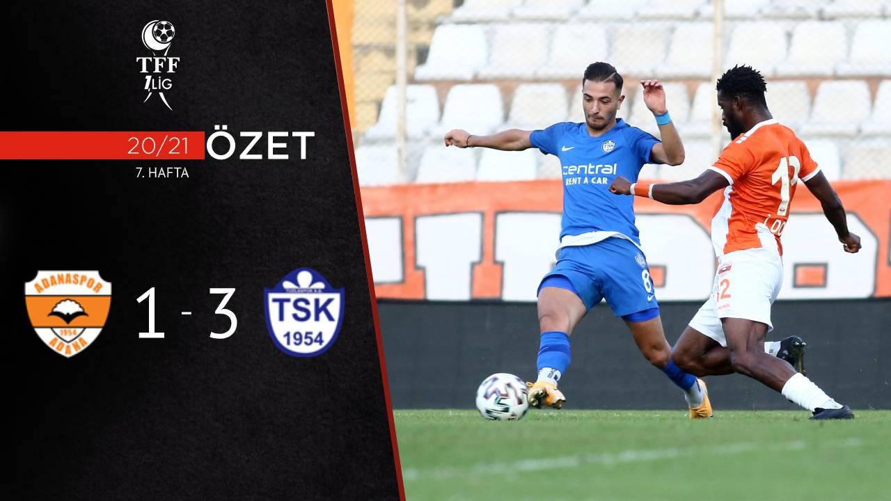 Adanaspor Tuzlaspor maç özeti