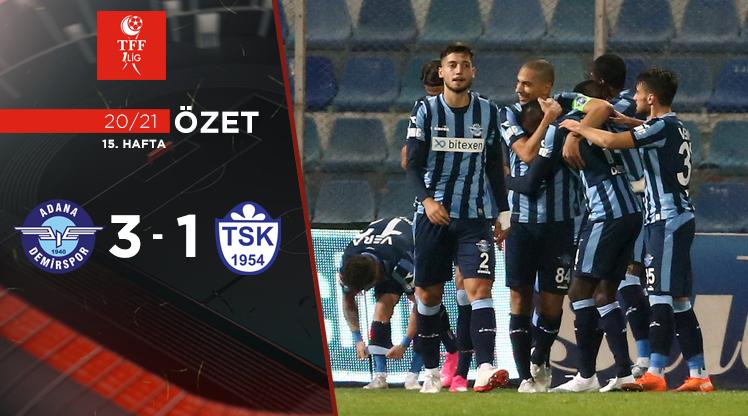 Adana Demirspor Tuzlaspor maç özeti