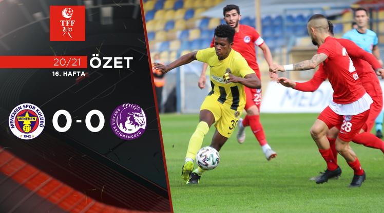 Menemenspor Ankara Keçiörengücü maç özeti