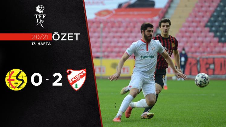 Eskişehirspor Beypiliç Boluspor maç özeti