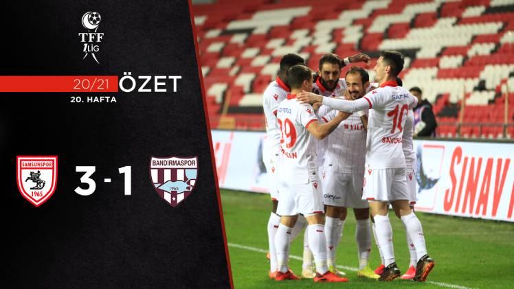 Yılport Samsunspor Royal Hastanesi Bandırmaspor maç özeti