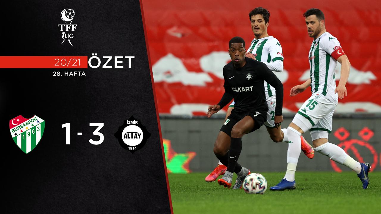 Bursaspor Altay maç özeti