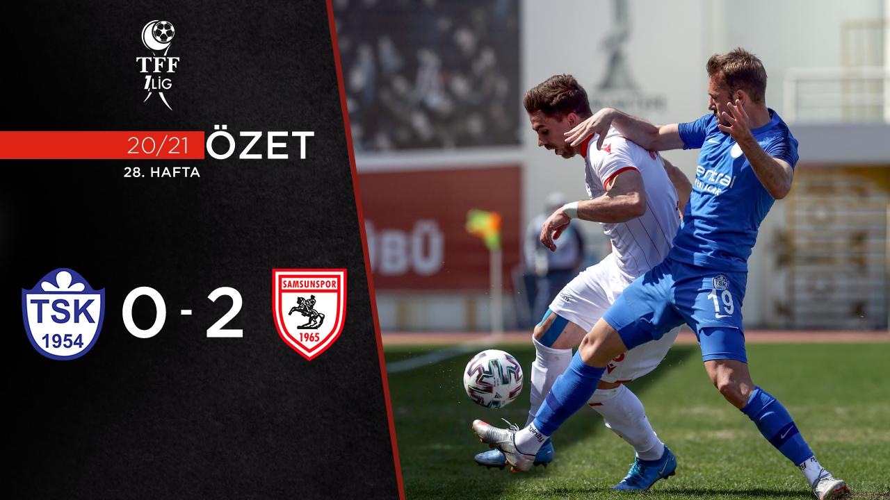 Tuzlaspor Yılport Samsunspor maç özeti