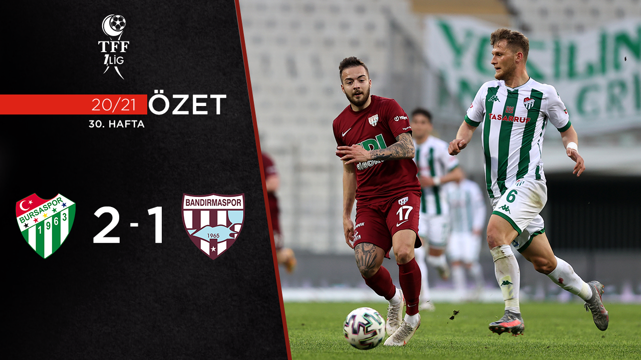 Bursaspor Royal Hastanesi Bandırmaspor maç özeti