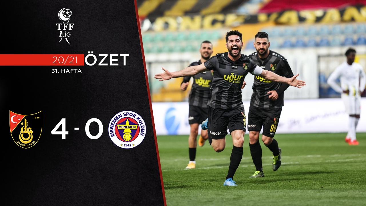İstanbulspor Menemenspor maç özeti