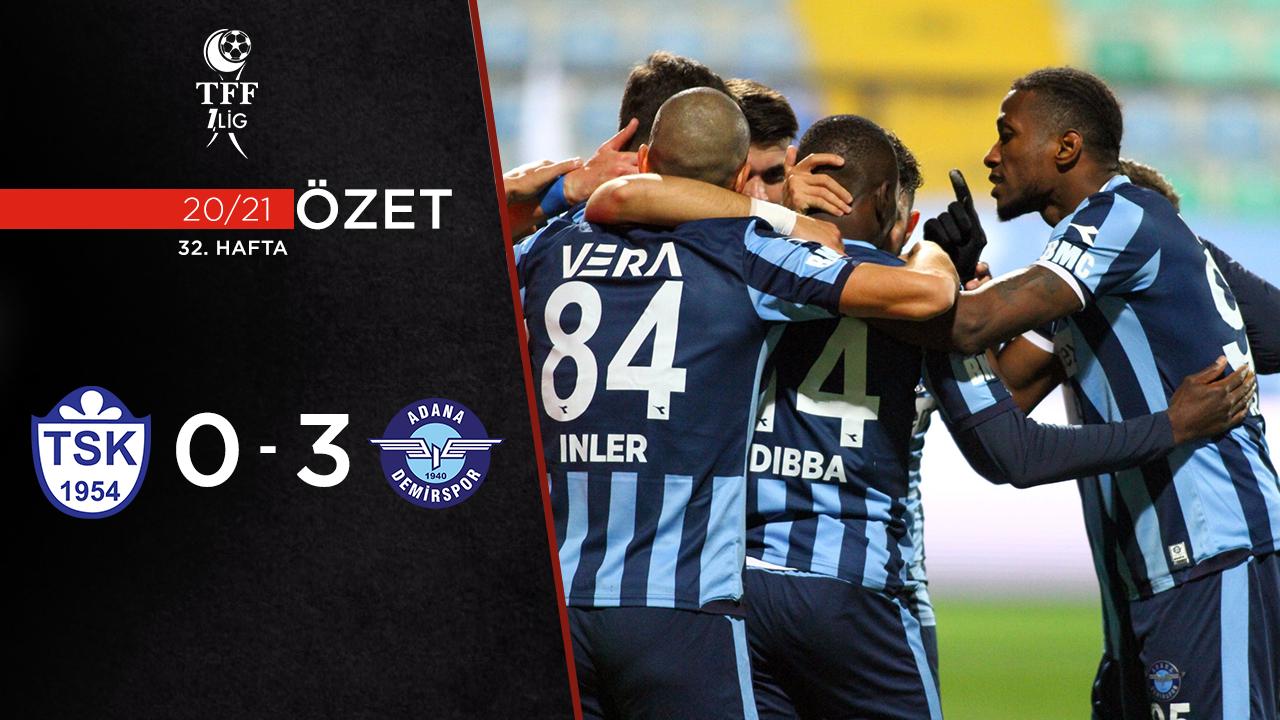 Tuzlaspor Adana Demirspor maç özeti