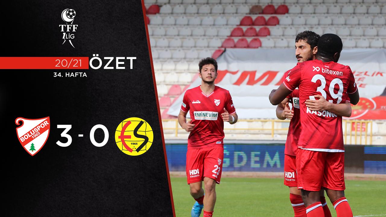 Beypiliç Boluspor Eskişehirspor maç özeti