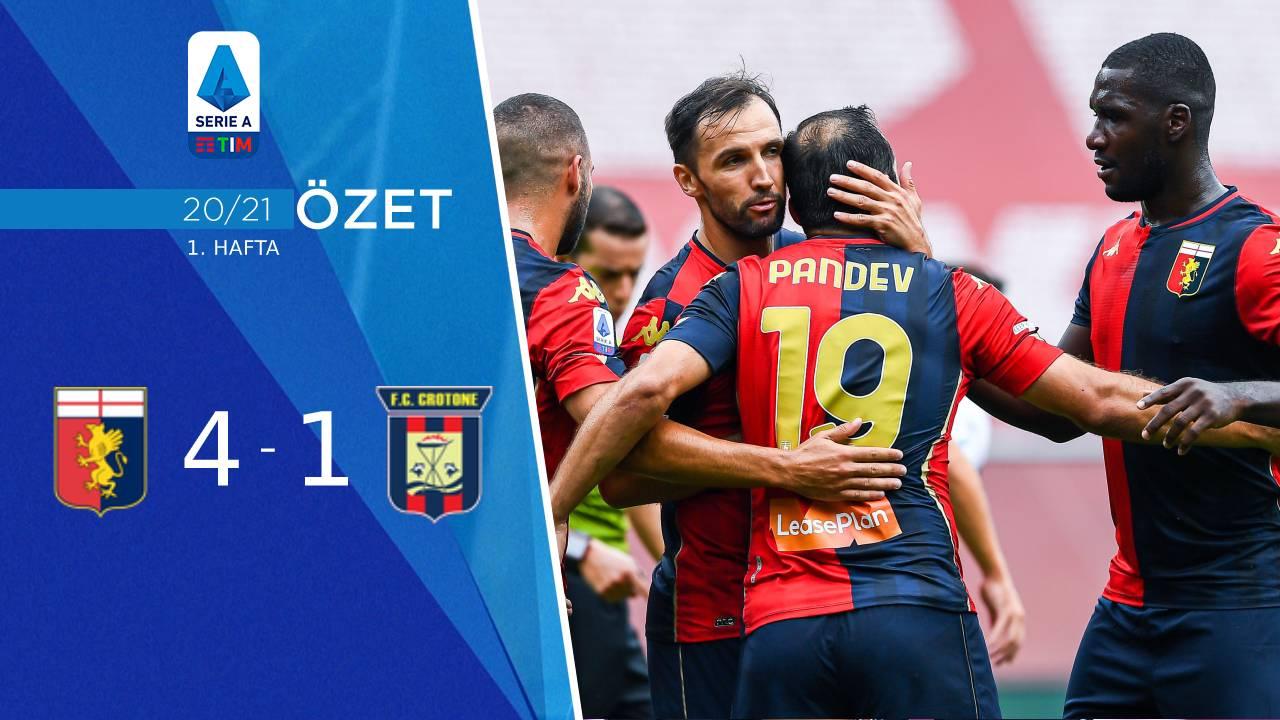 Genoa Crotone maç özeti