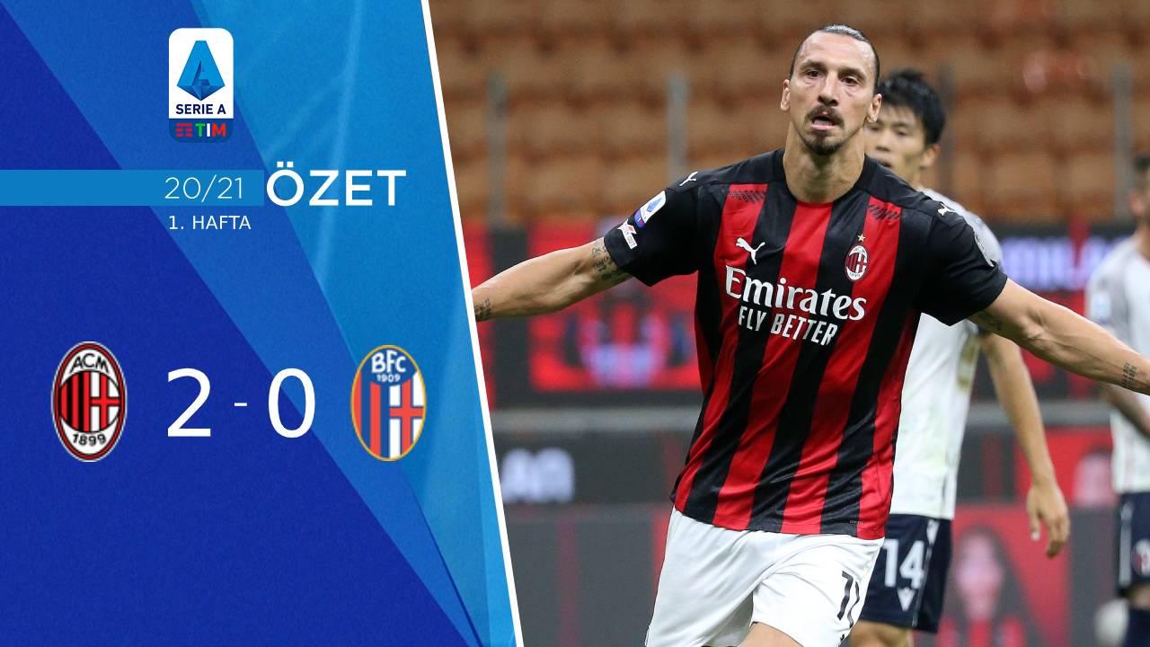 Milan Bologna maç özeti