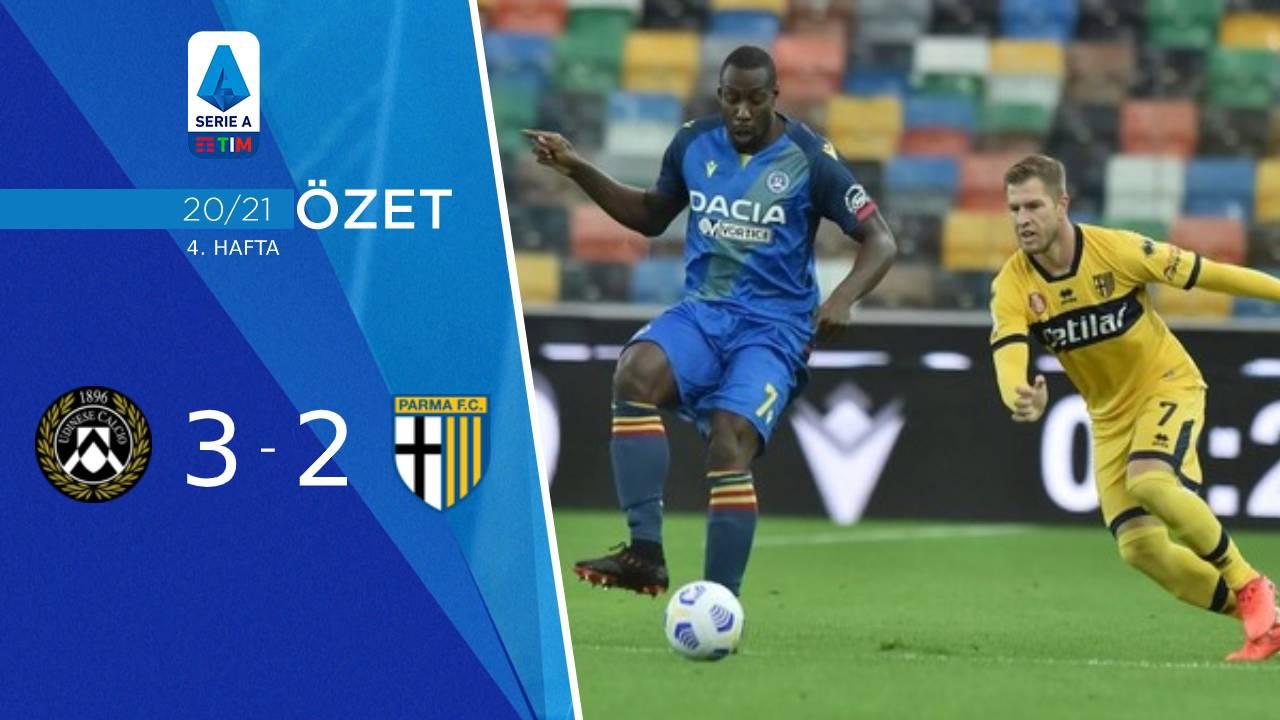 Udinese Parma maç özeti