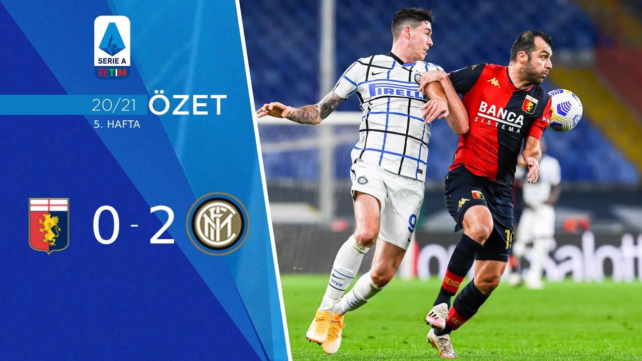 Genoa Inter maç özeti