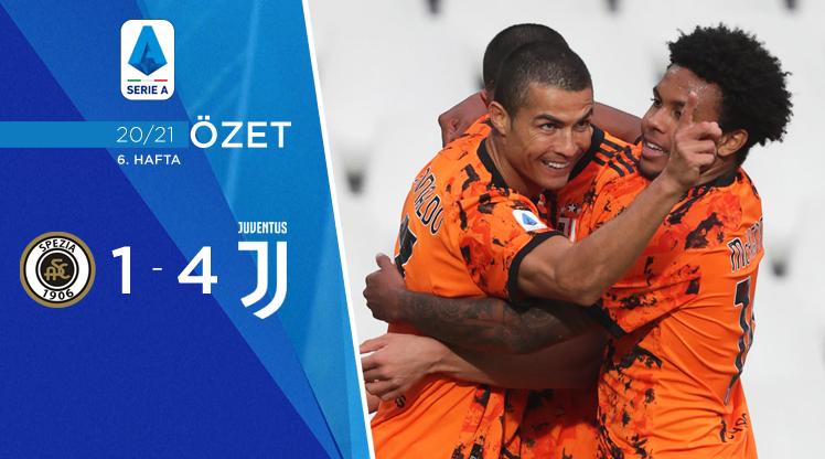 Spezia Juventus maç özeti