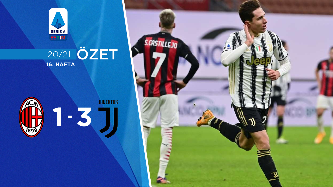 Milan Juventus maç özeti