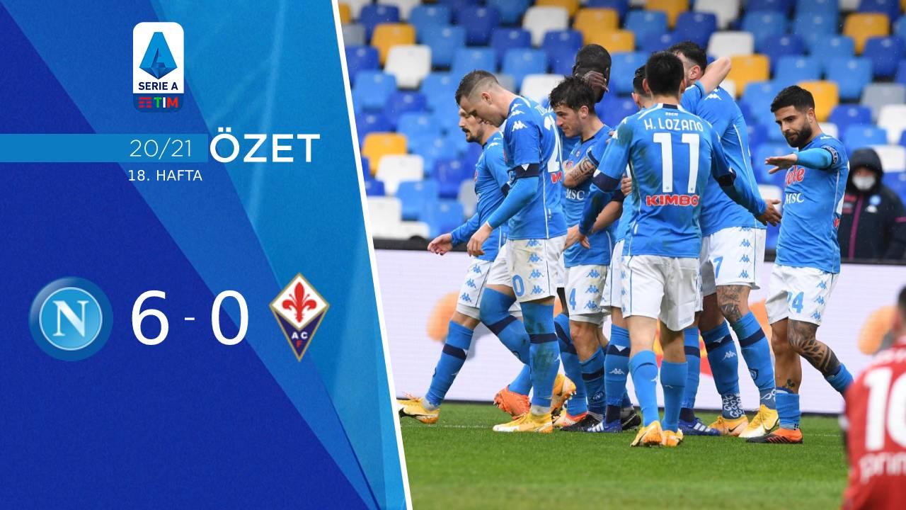 Napoli Fiorentina maç özeti
