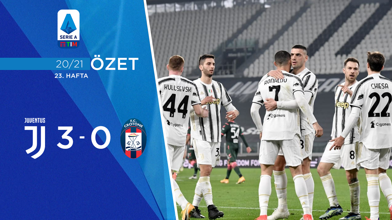 Juventus Crotone maç özeti