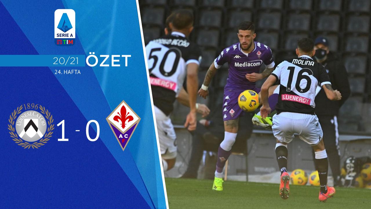 Udinese Fiorentina maç özeti