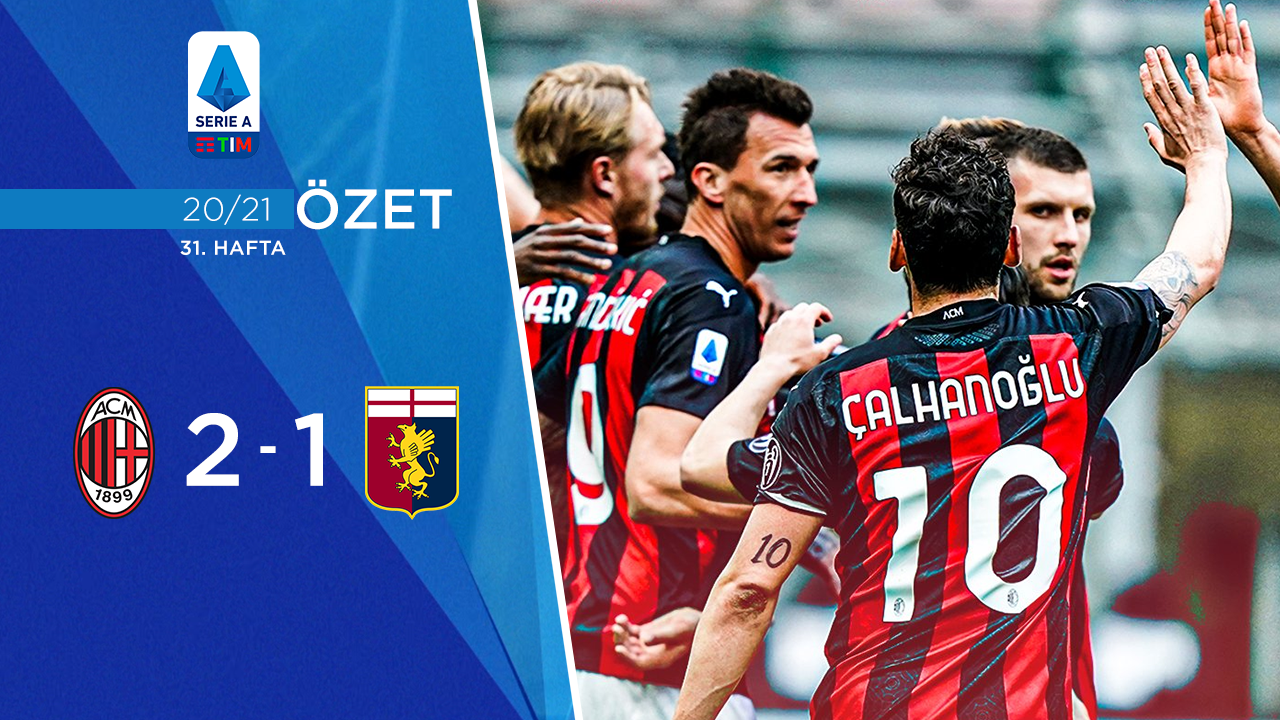 Milan Genoa maç özeti