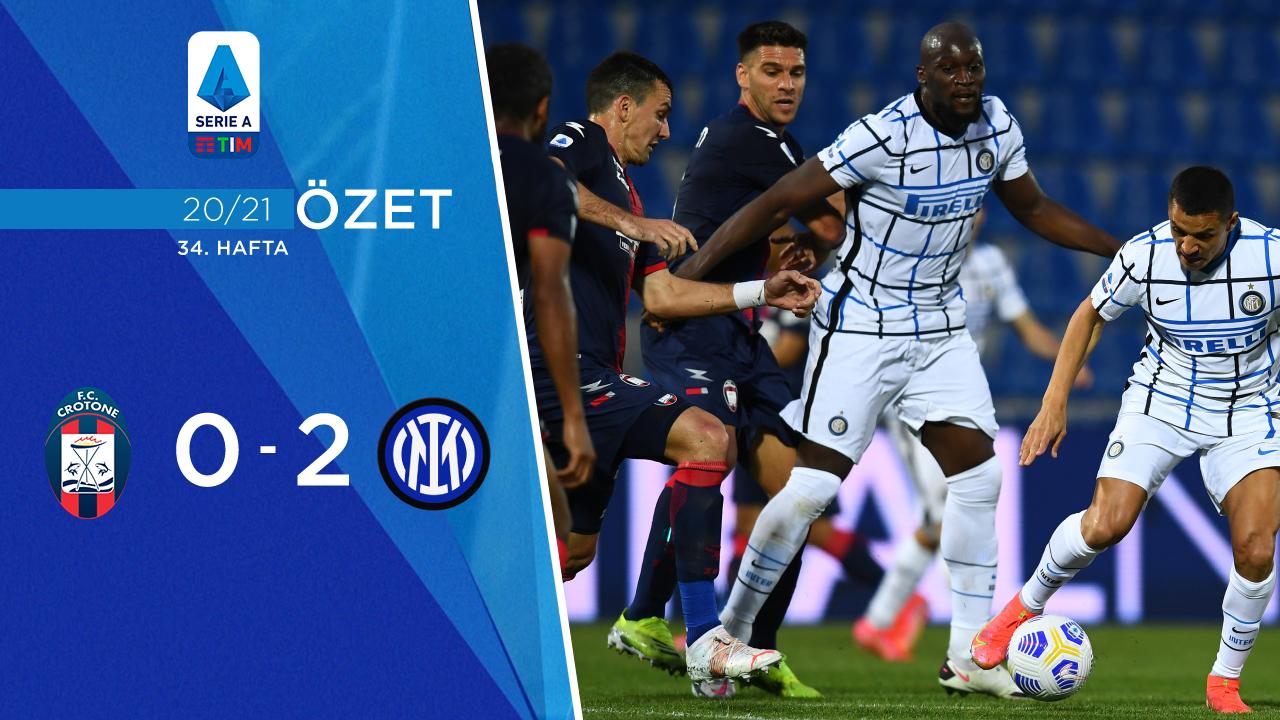 Crotone Inter maç özeti