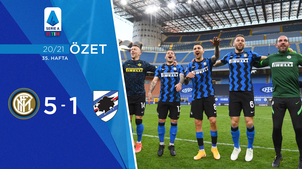 Inter Sampdoria maç özeti