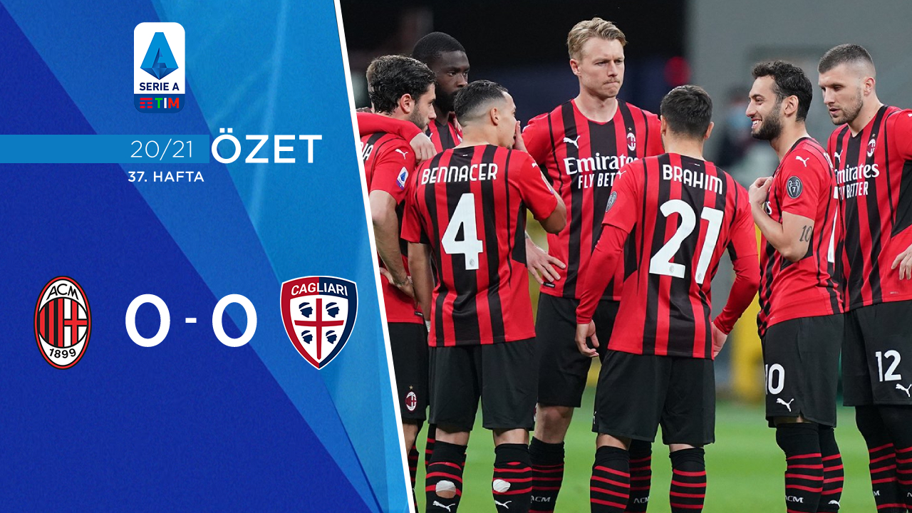 Milan Cagliari maç özeti