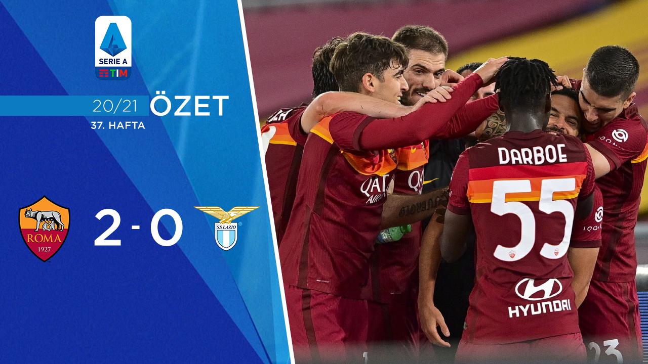 Roma Lazio maç özeti