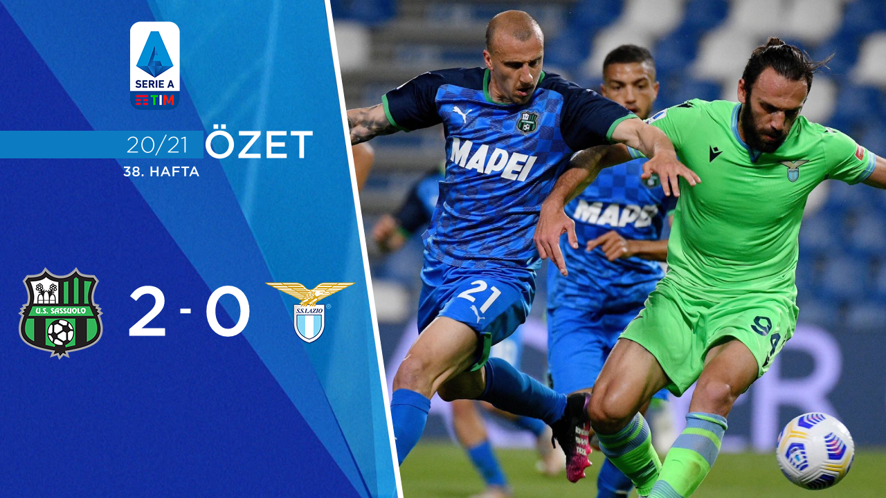 Sassuolo Lazio maç özeti