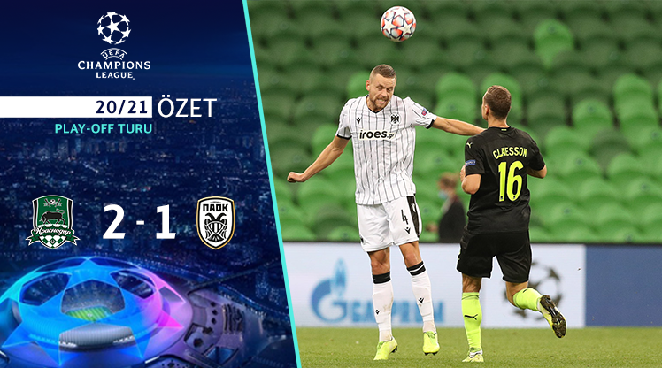 FC Krasnodar PAOK maç özeti