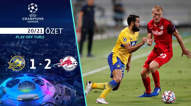 Maccabi Tel Aviv Red Bull Salzburg maç özeti