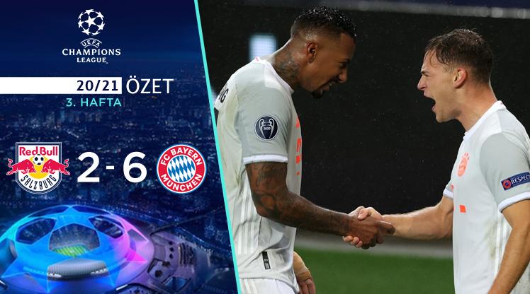 Red Bull Salzburg Bayern Münih maç özeti