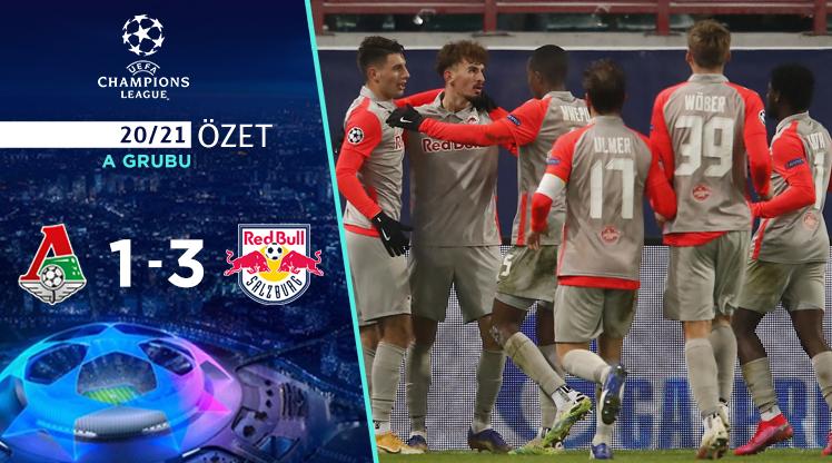 Lokomotiv Moskova Red Bull Salzburg maç özeti
