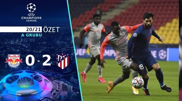 Red Bull Salzburg Atletico Madrid maç özeti