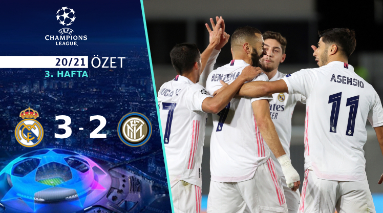 Real Madrid Inter maç özeti