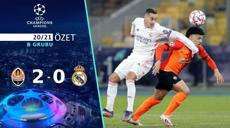 Shakhtar Donetsk Real Madrid maç özeti