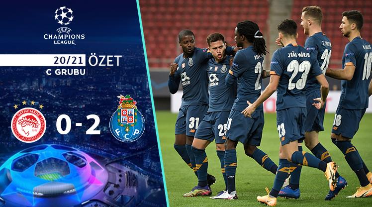 Olympiakos Porto maç özeti