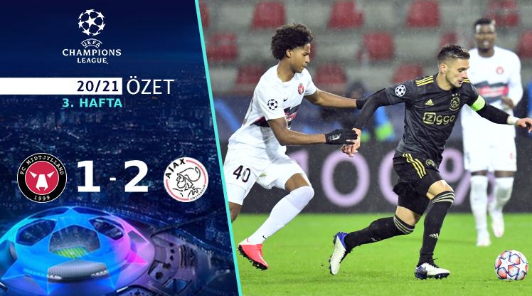 FC Midtjylland Ajax maç özeti