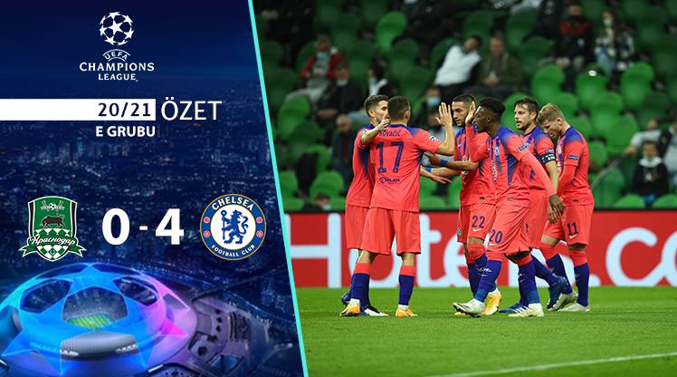 FC Krasnodar Chelsea maç özeti