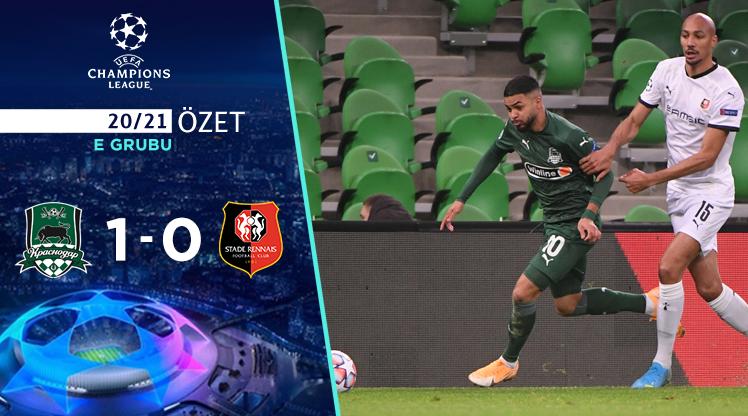 FC Krasnodar Rennes maç özeti