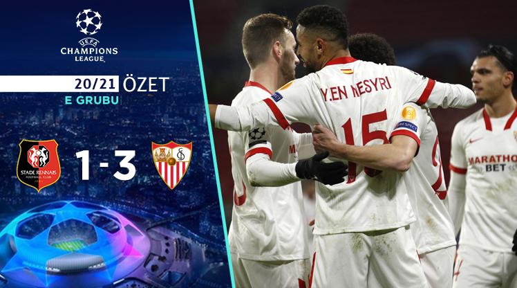 Rennes Sevilla maç özeti