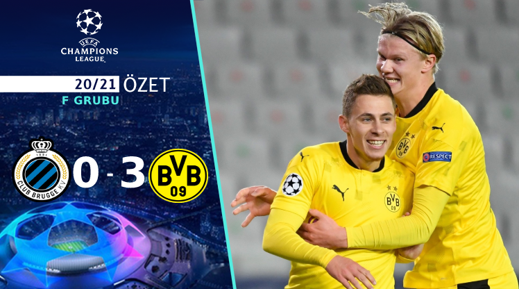 Club Brugge Borussia Dortmund maç özeti