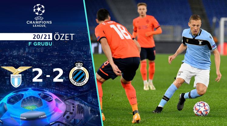 Lazio Club Brugge maç özeti