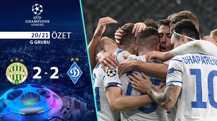 Ferencvaros Dinamo Kiev maç özeti