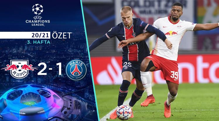 RB Leipzig Paris St Germain maç özeti