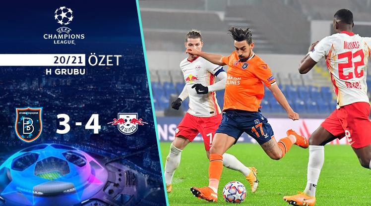 Medipol Başakşehir RB Leipzig maç özeti
