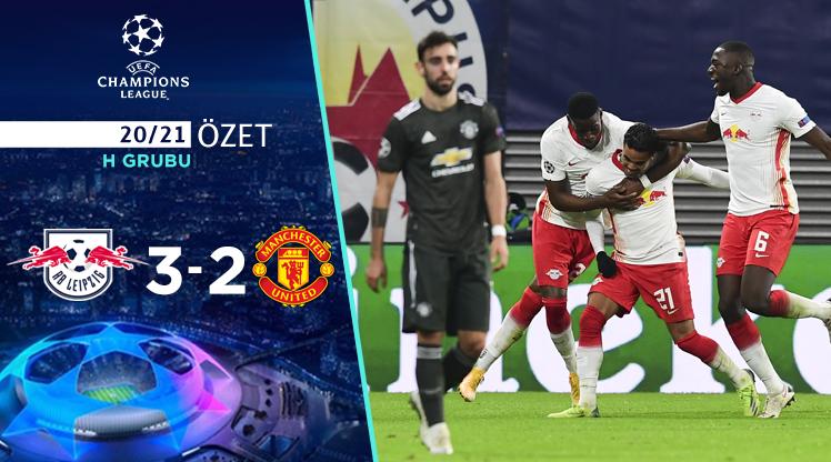 RB Leipzig Manchester United maç özeti