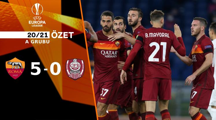 Roma CFR Cluj maç özeti