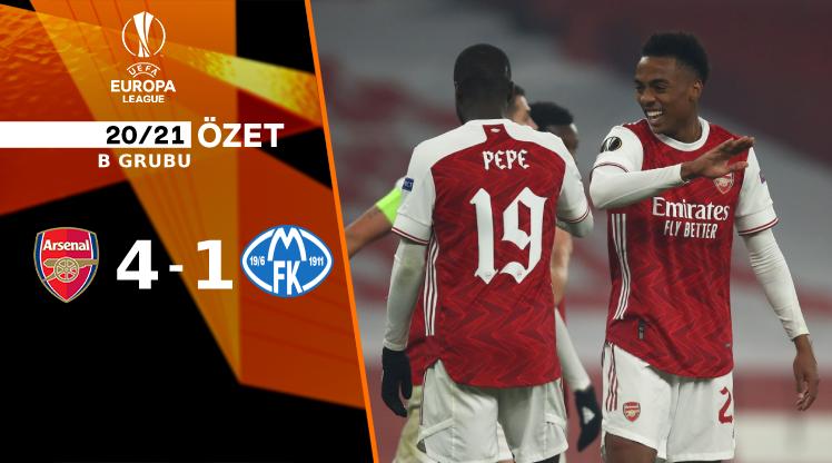 Arsenal Molde maç özeti